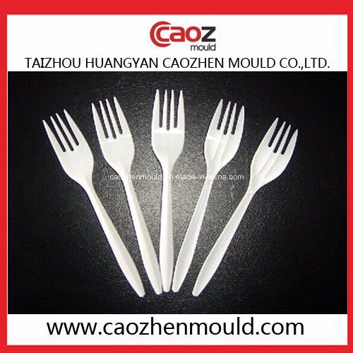 Plastic Spoon/Fork/Knife Injection Mould in China