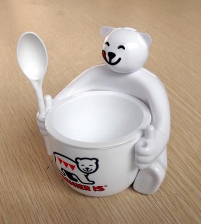 Personalized SGS Certificate PP Plastic Ice Cream Bowl