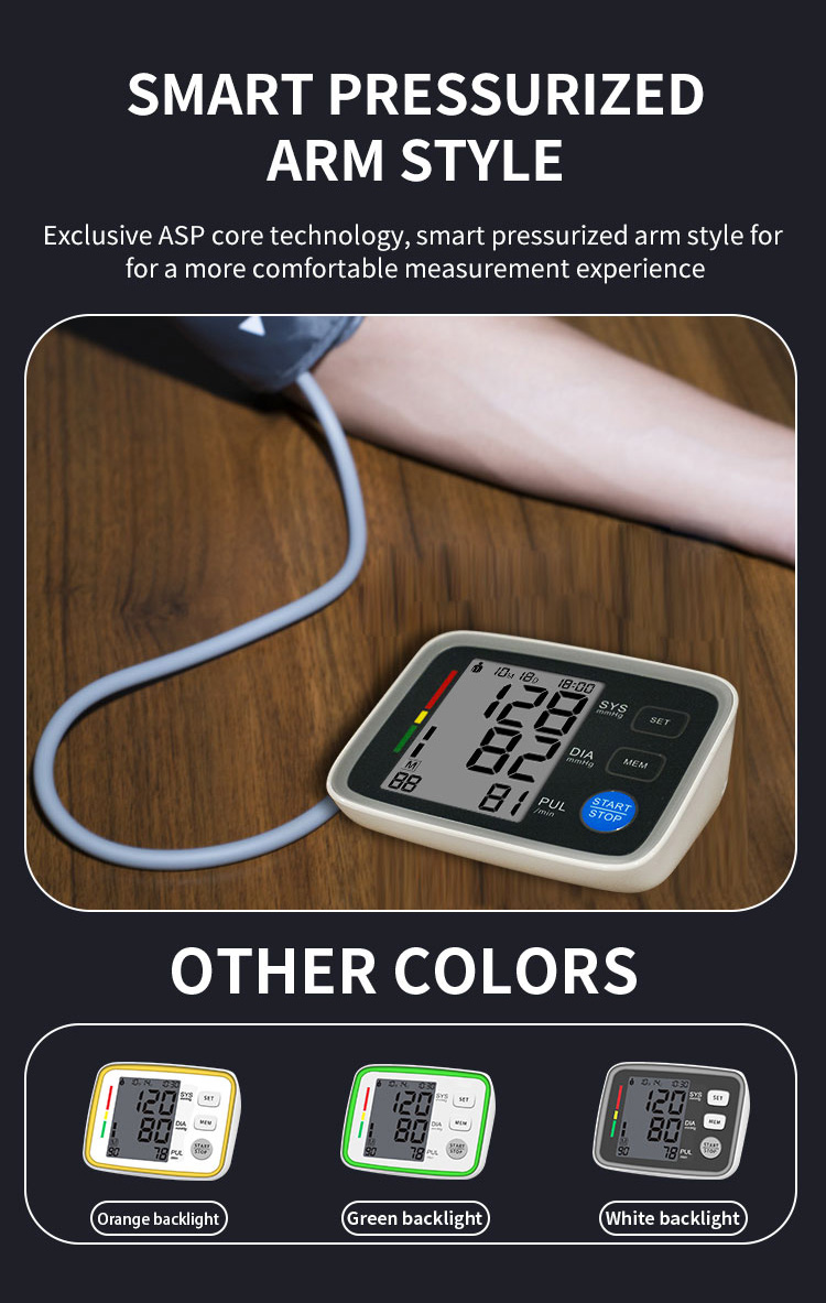 blood pressure monitor with SDK features