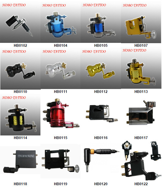 Hot Sale Brand Quality Rotary Gun Style Tattoo Machine