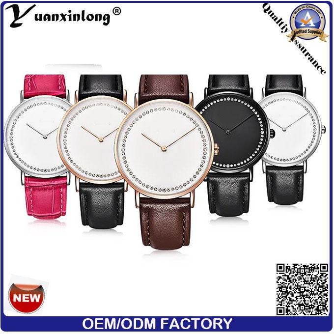 Yxl-006 2016 Wholesale Custom Western Fashion Leather Dw Wrist Watches