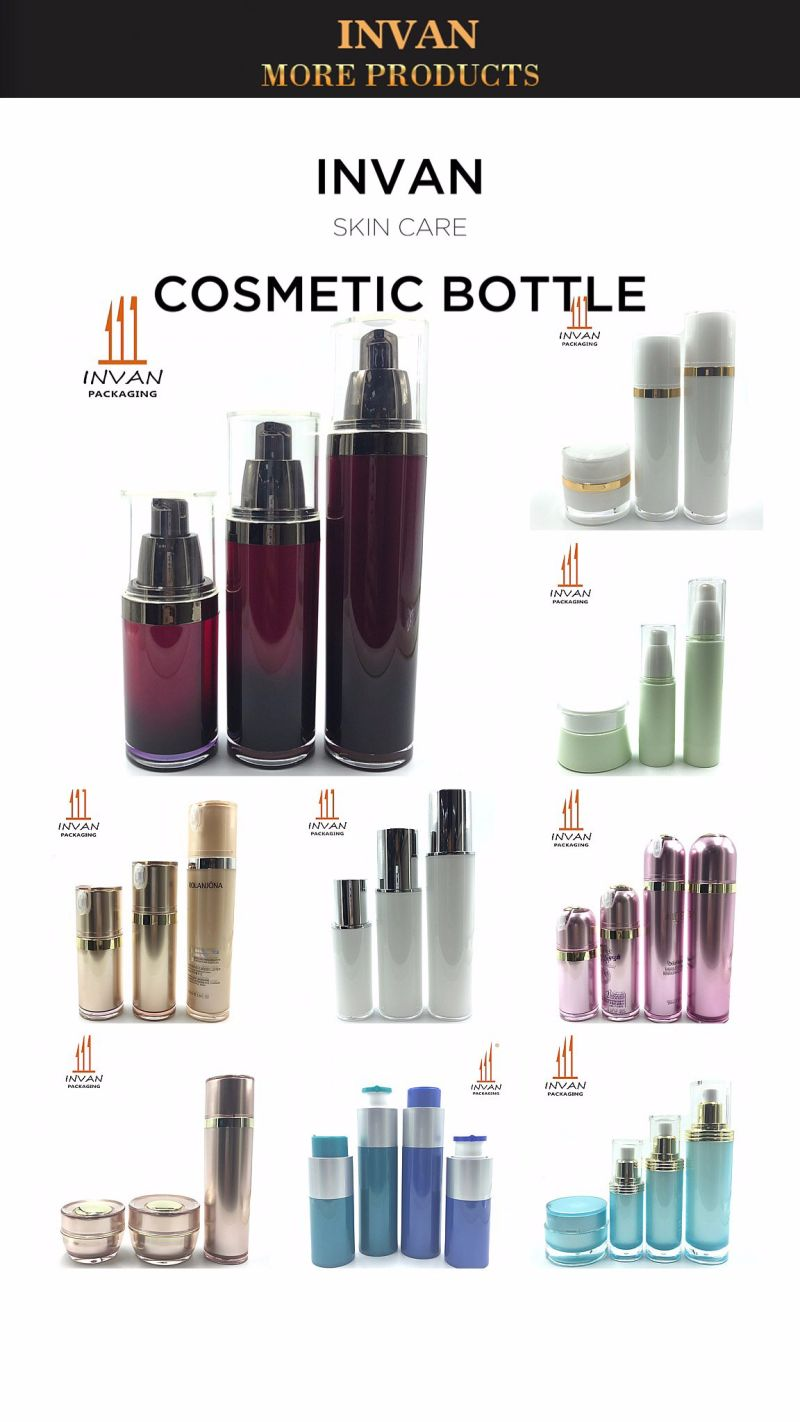 30ml 40ml 100ml 120ml Cosmetic Bottle Acrylic Bottle Plastic Bottle Lotion Bottle Toner Bottle