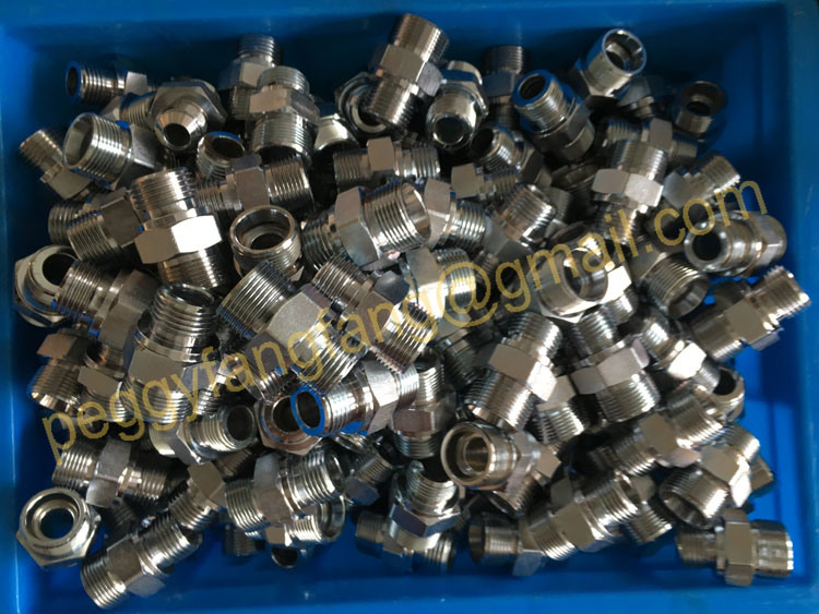 45 Elbow Jic Male 74 Cone /Jic Female 74 Seat Stainless Steel Connectors (2J4)