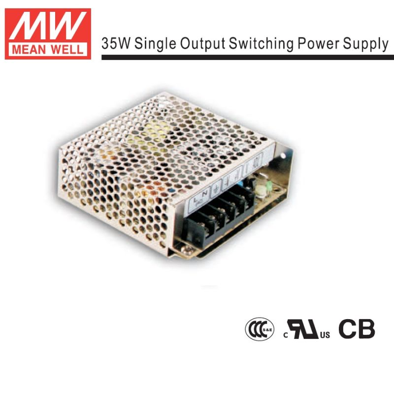 Mean Well 35W Open-Frame Power Supply