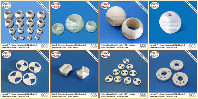 High Precision Machining Zirconia Ceramic Ball Valve Seats