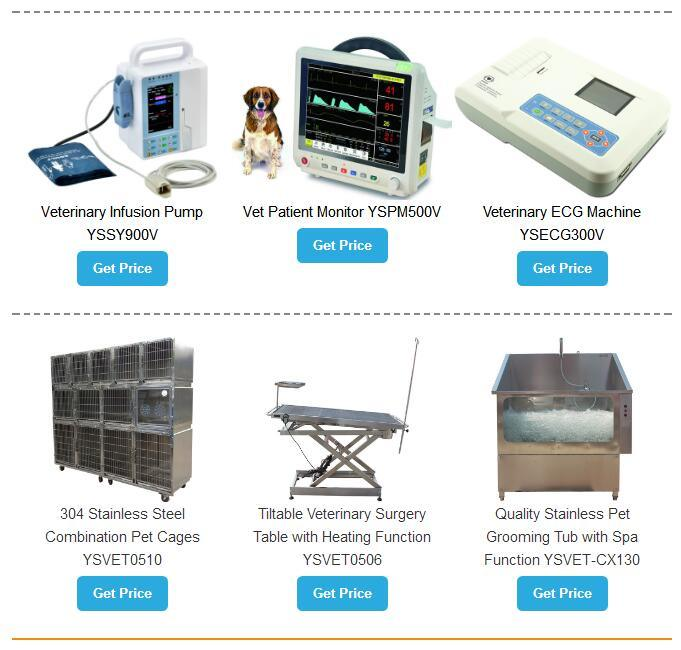 Ysenmed One-Stop Shopping Medical Hospital Veterinary Equipment