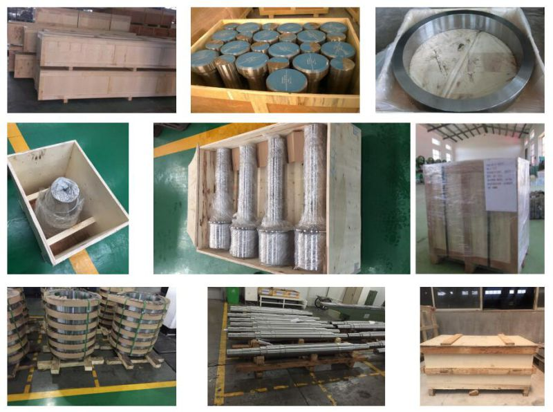 Steel Forging Shaft with Stainless Steel Material Factory