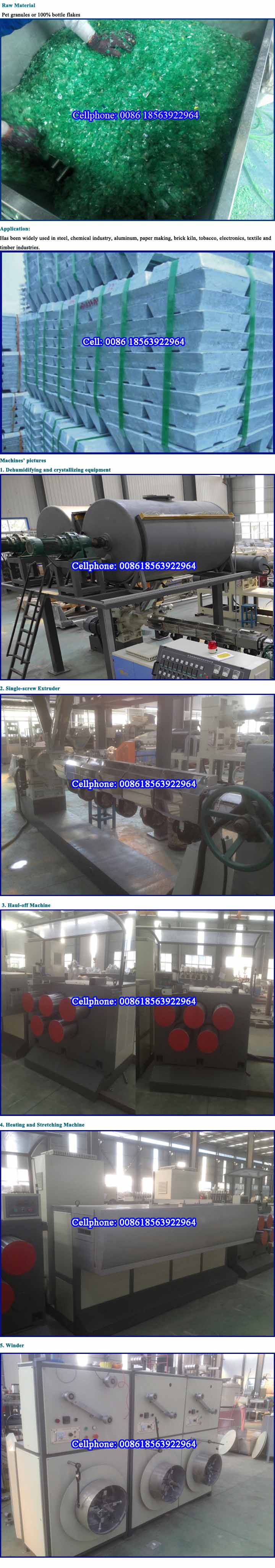 High Output Pet Strap Production Line