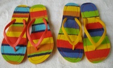 The Slipper with Custom Rubber Double Colour PVC