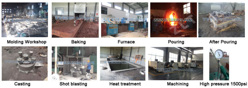 Centrifugal Chemical Pump Spare Parts for Sand Casting