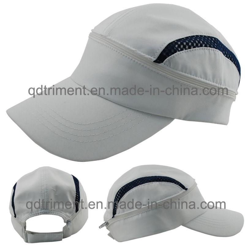 Reflective Stripe Microfiber Fabric Baseball Sport Cap (DOCR0126)