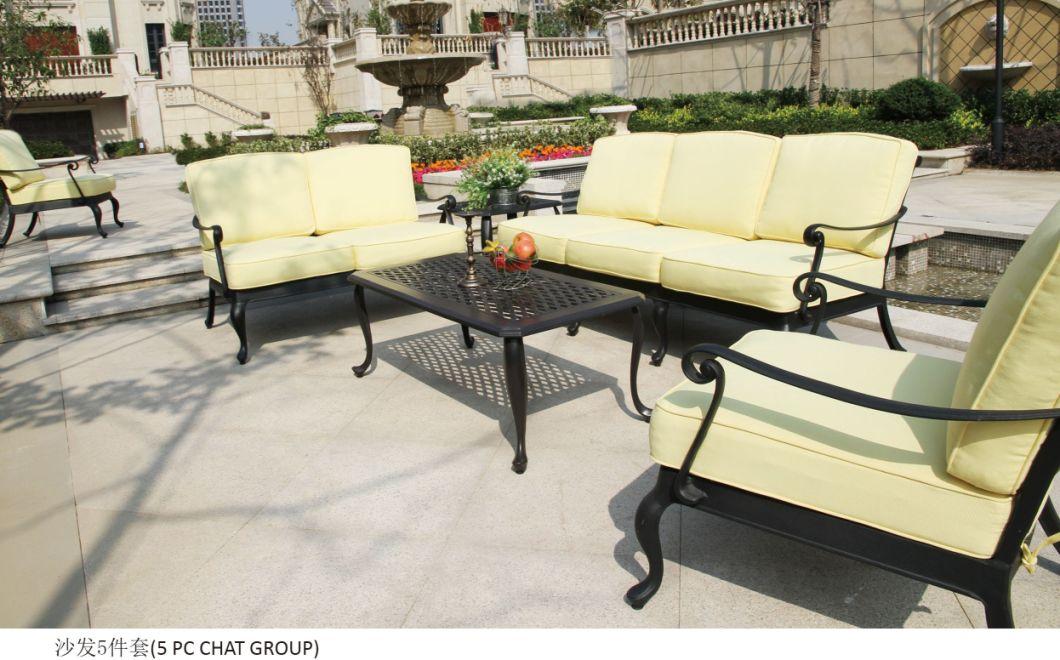 Patio Sofa Outdoor Furniture Cast Aluminum Outdoor Sofa Garden Sofa