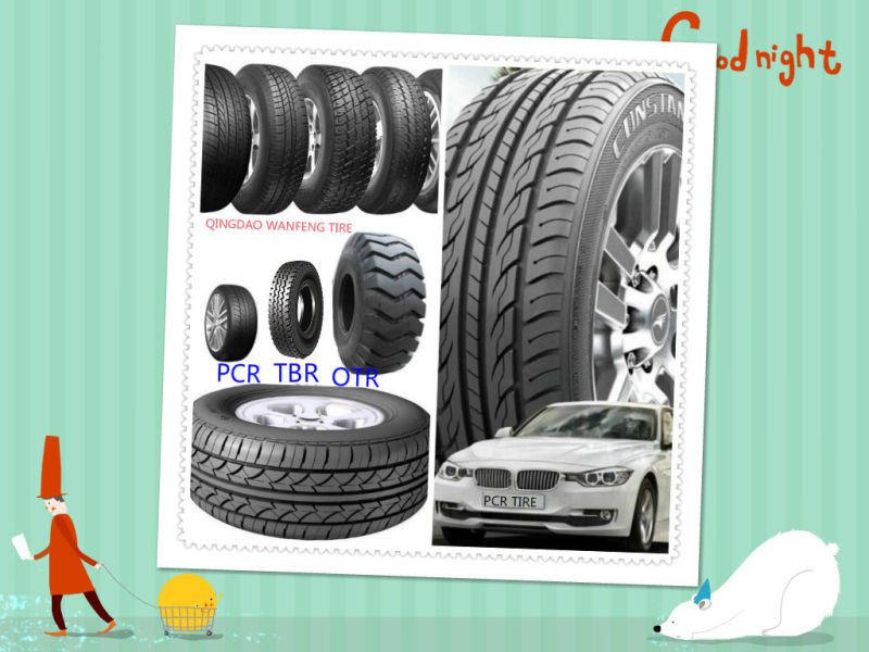 Hilo Brand High Quality New PCR Car Tire, Radial Tyre