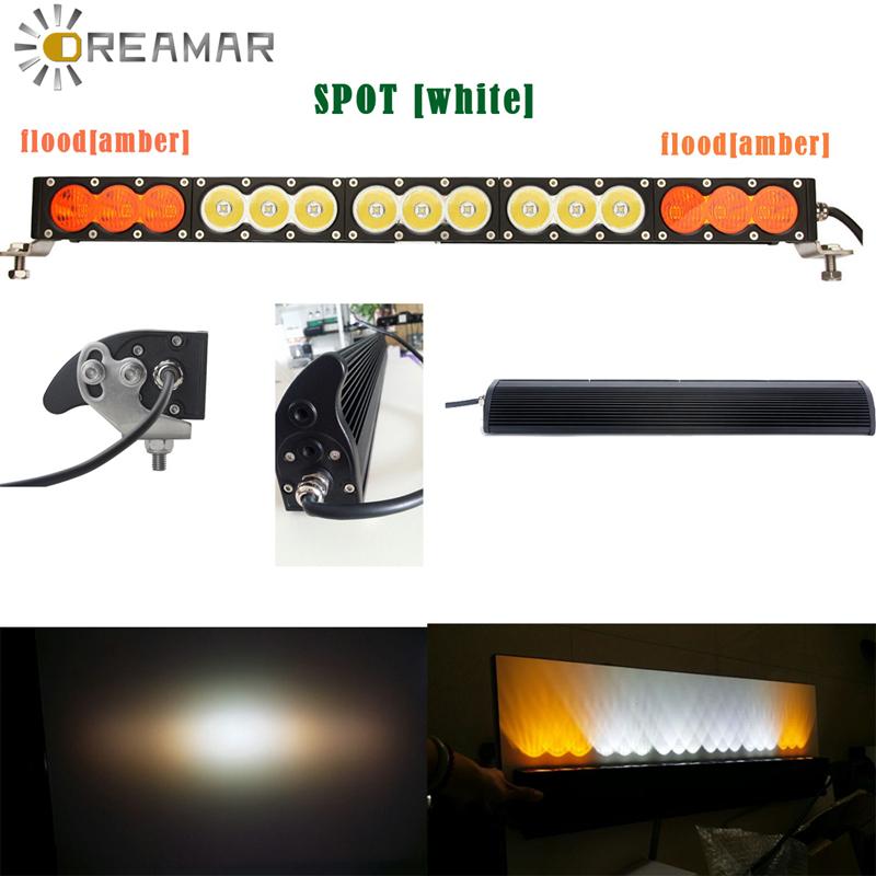 120W Single Row LED Light Bar 10W LED Offroadlight