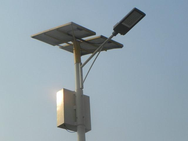 Round/Polygonal Q235 Steel 6/7m Street Lighting Pole (BDP-LD10)