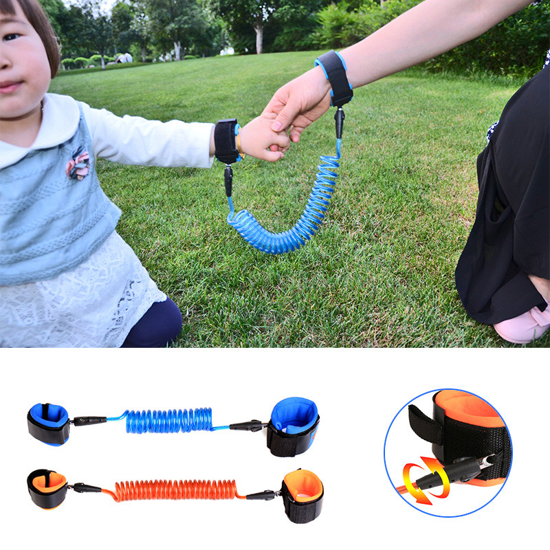 Anti Lost Wrist Link Toddler Leash Safety Harness for Baby Strap Rope Outdoor