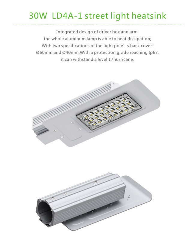 5 Years Warranty Philips 3030 30W LED Street Light