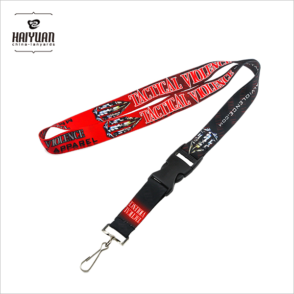 Custom Personalized Neck Sublimation Printed Polyester Lanyard