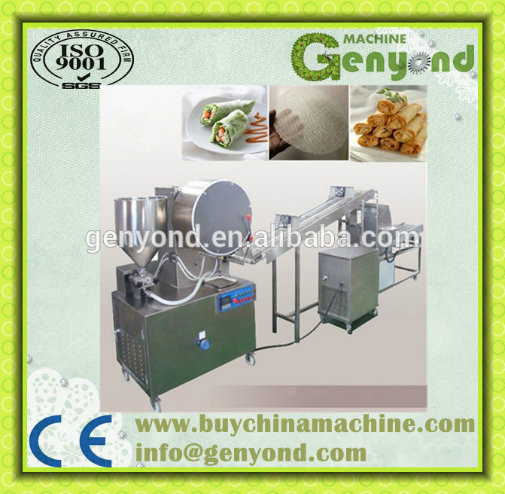 Automatic Fried Spring Roll Production Line