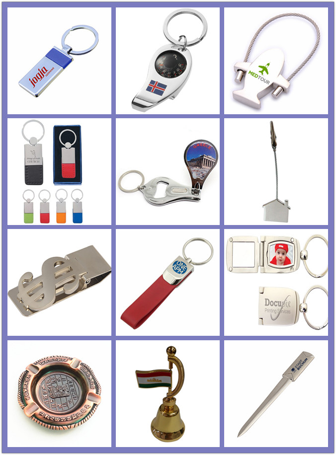 Promotional Souvenir Gift Keychain Bottle Opener with Qr Code (F5018E)