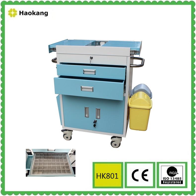 Hospital Furniture for Emergency Trolley (HK801)