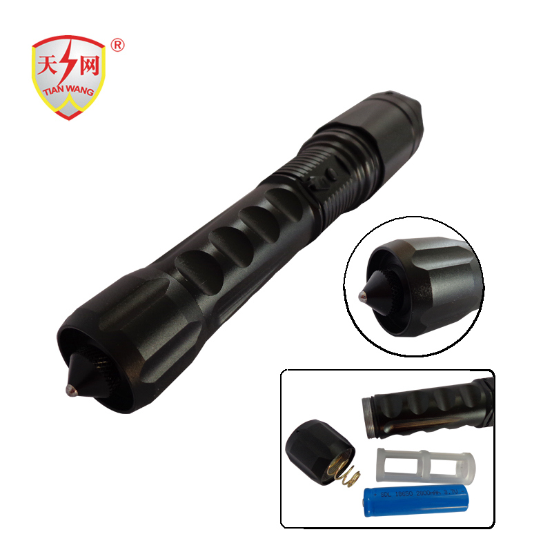 Best Flashlight Stun Guns with Safety Hammer