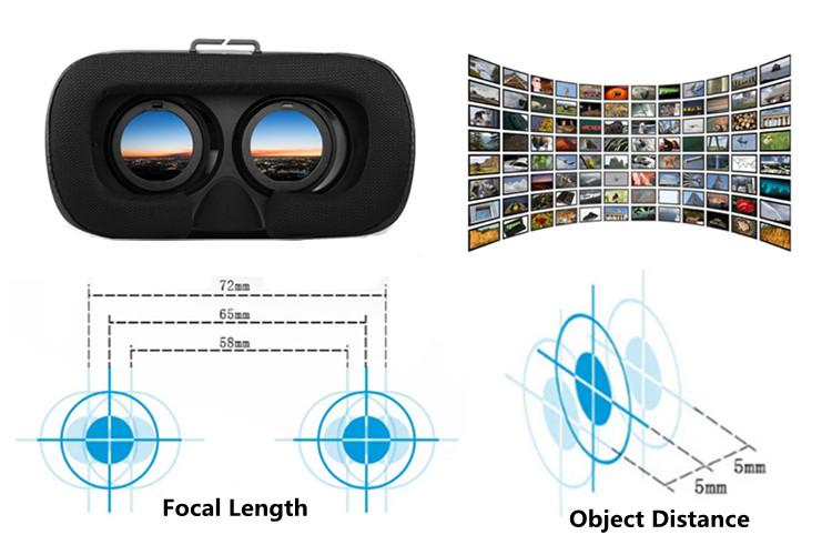 Bluetooth Gampad 3D Movie Virtual Reality Glasses