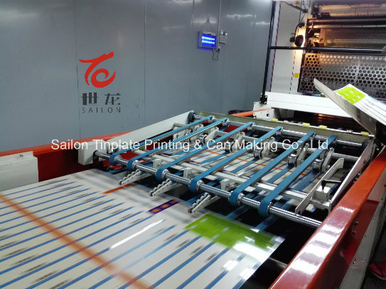 Printing Tinplate of Different Thickness with Customer's Design