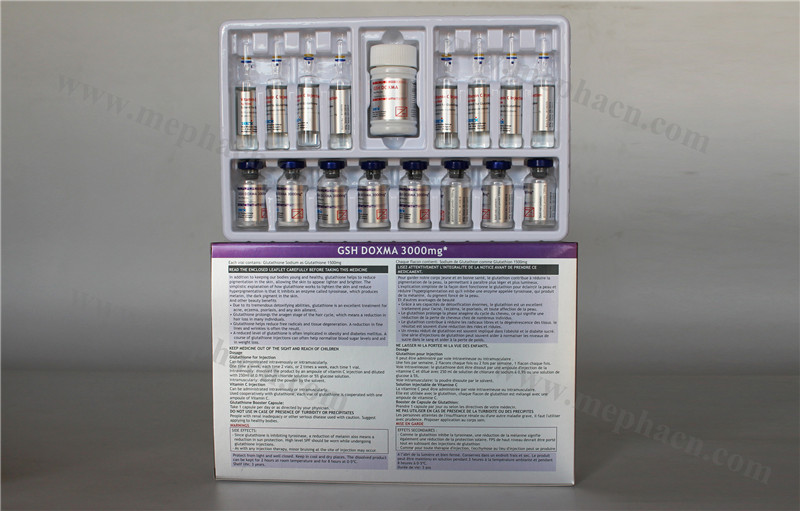 OEM Service Glutathione Injection 300mg Cosmetic Products