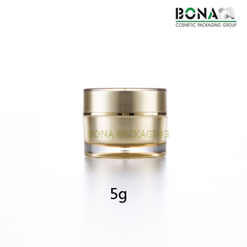 5g Small Acrylic Jar Gift Jar Double Wall Jar Plastic Container