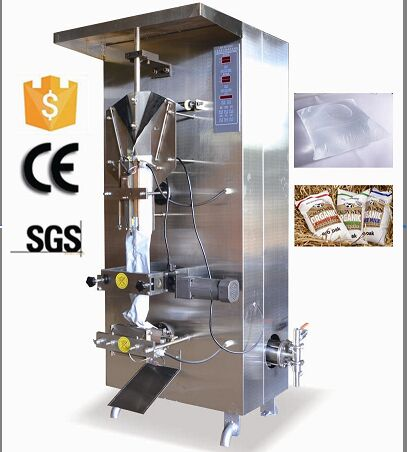 Automatic Back Seal Plastic Bag Liquid Filling Sealing Packing Machine