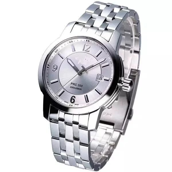 Mens Stainless Steel Watch 316L Case and Band Solid