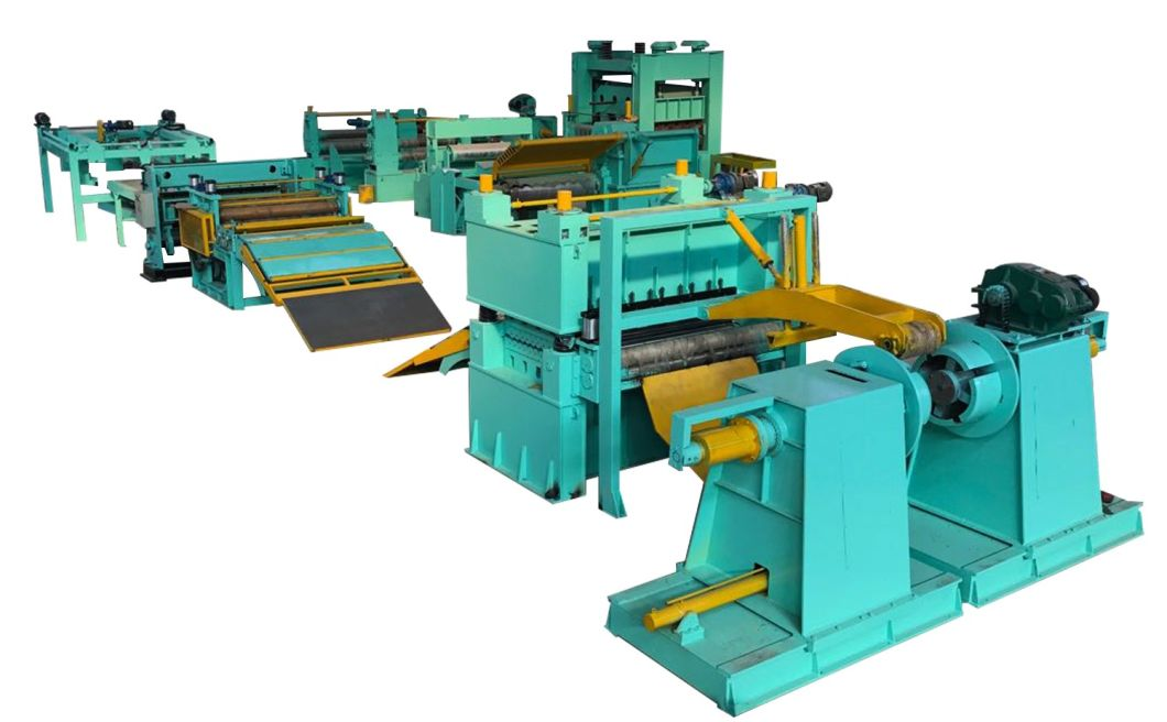 Automatic Steel Coil Slitting Machine Line