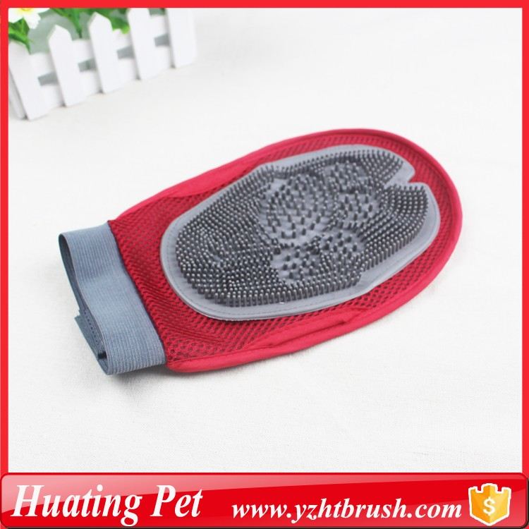 deshedding doggy cleaning glove