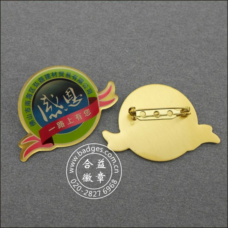 Prefect Badge, Custom Name Lapel Pin (GZHY-LP-027)