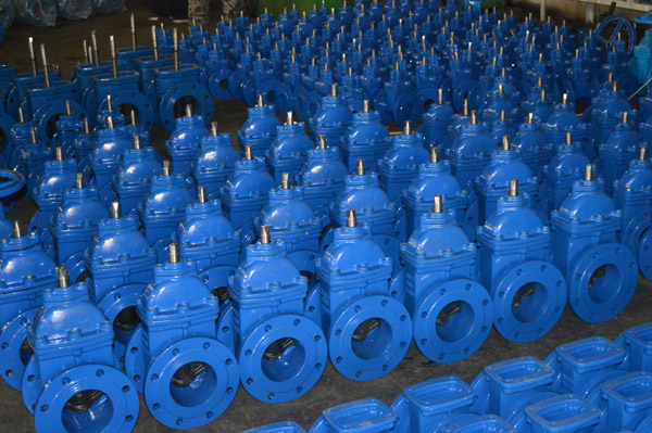 High Quality Flange Connection Gate Valve
