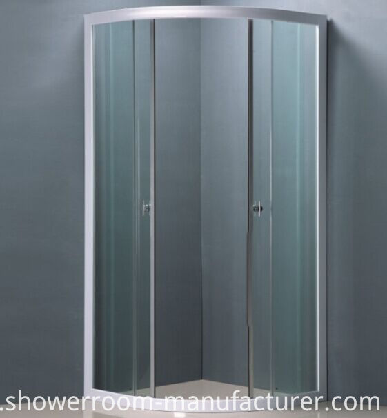 No Tray Simple Shower Enclosure (ADL-8009)