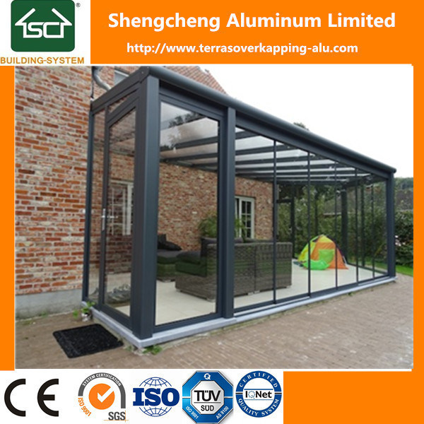 Waterproof Patio Cover with Polycarbonate Sheet Roof