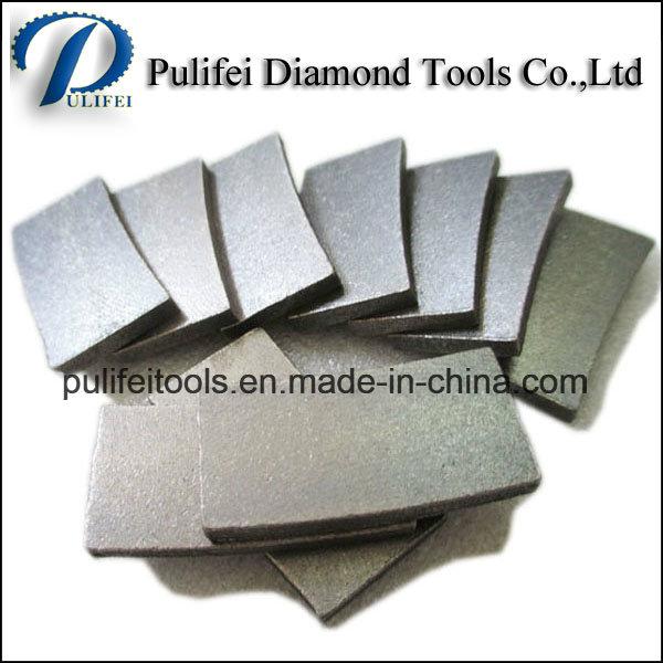 Single Saw Cutting Segment Sandstone Diamond Cutting Teeth