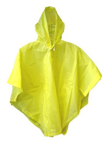 100% PVC Adult's Rain Poncho Waterproof Poncho Workwear Work Clothes