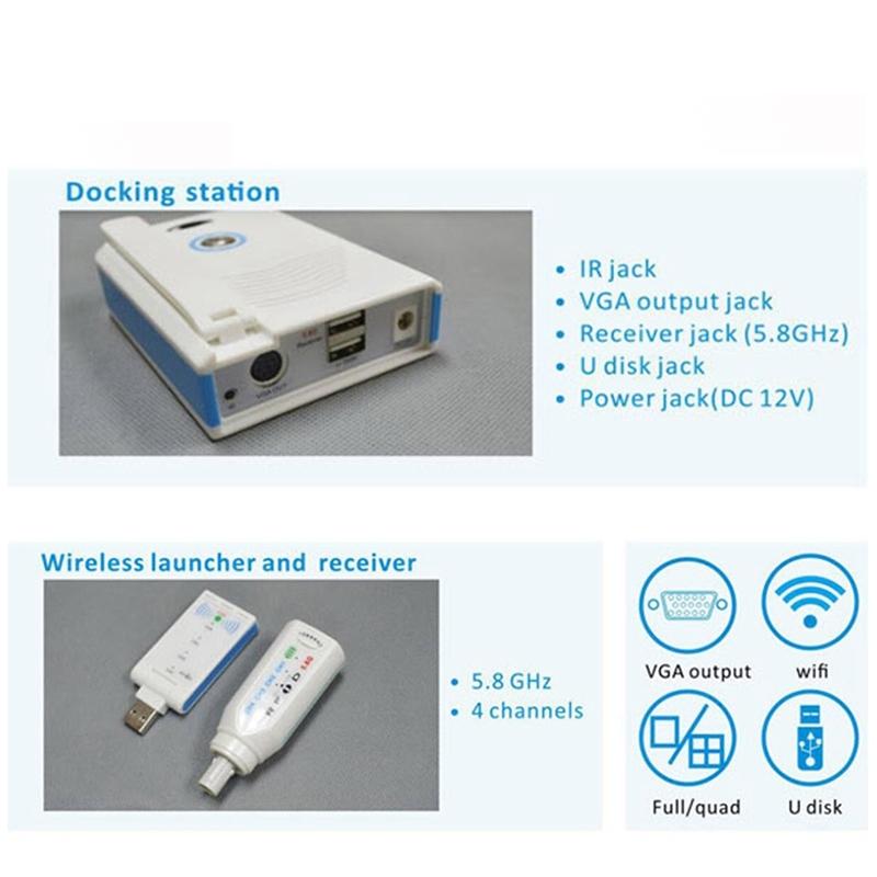 WiFi Wireless CCD Dental Intraoral Camera 2.0 Mega Pixels MD-2000W
