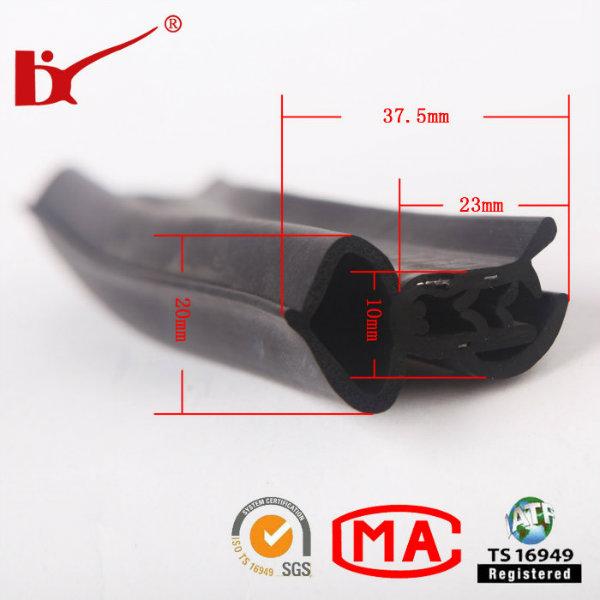 Good Flexible Window Edge Sound Insulation Rubber Seal Strip