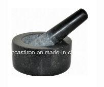 Granite Mortars and Pestles Size 14X9.5cm