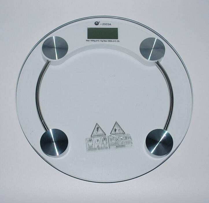 Glass Digital Bathroom Electronic Weighing Scale