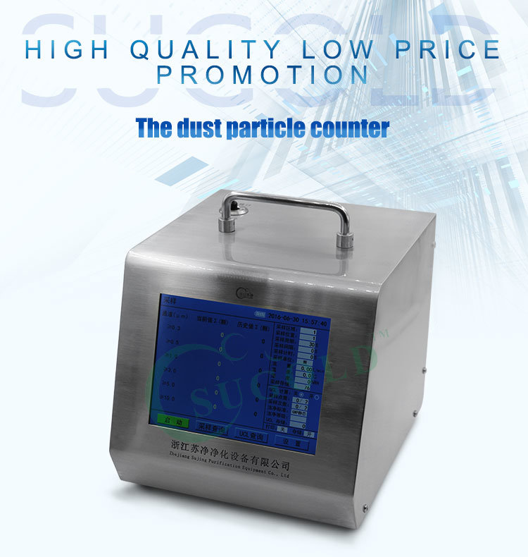 Y09-310acdc Battery Operated 28.3L/Min Laser Particle Counter