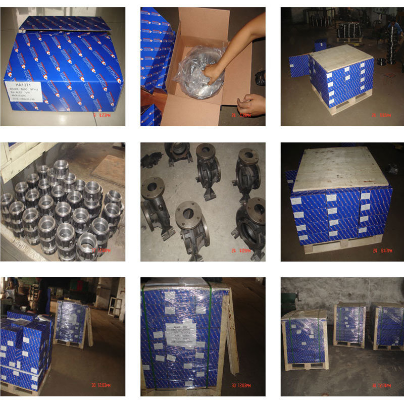 Brake Disc Auto Spare Part for Brake System