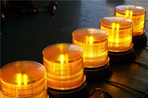 Truck Amber Light LED Strobe Rotating Beacon (TBD348-III amber)