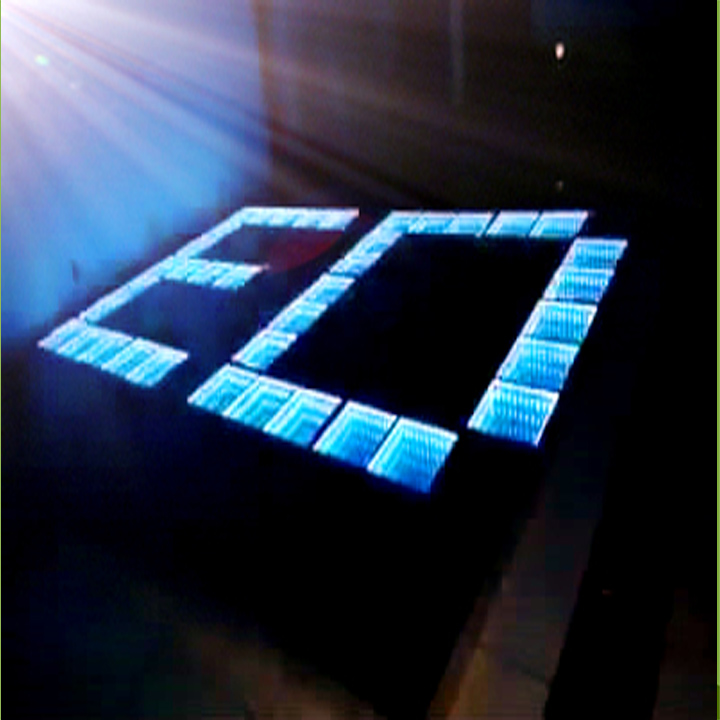 Chinese Innovative 3D Mirror Time Tunnel LED Dance Floor