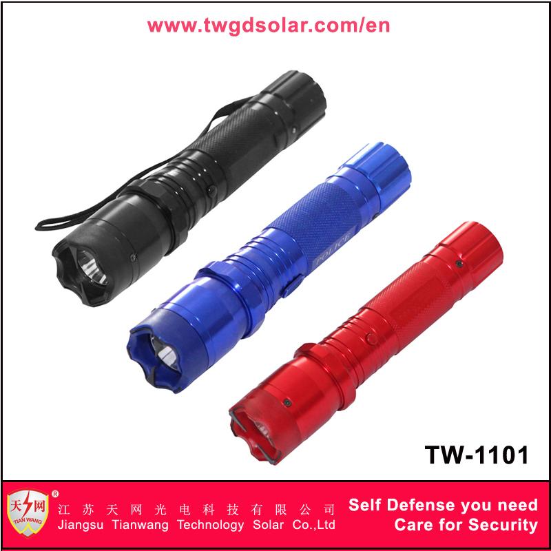 Aluminum Alloy Blue 1101 Police Flashlight Stun Guns