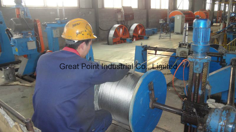 Stranded Bare Conductor Aluminium Conductor steel Reinforced/ACSR